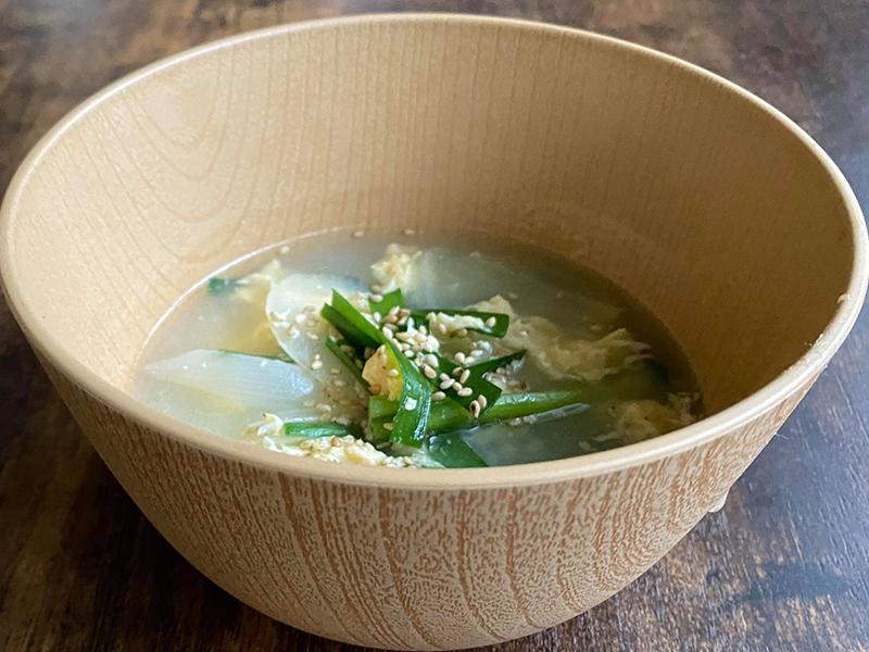 保護中: ニラ玉スープ
