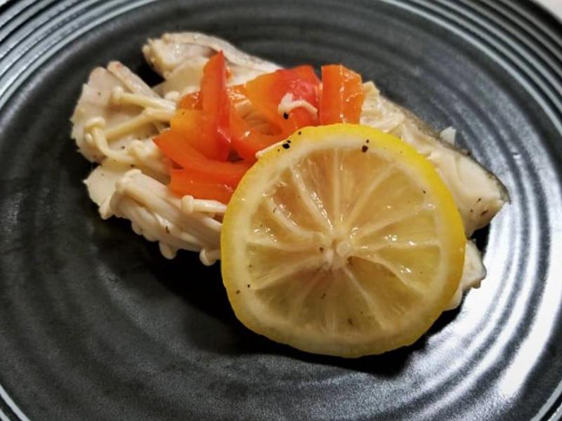 保護中: たらのレモン蒸し(火を使わない簡単レシピ)
